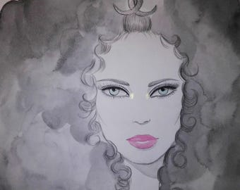 Elegance - Original Watercolor