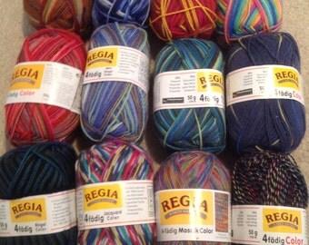 Regia 4 ply sock yarn