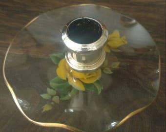 Set of 2-Vintage candle holders