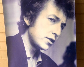 Bob Dylan Canvas Wall Hanging - Large 5 Feet Tall Picture