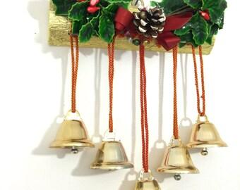 antique christmas door chimesbells