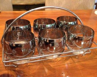 Vintage 6 Roly Poly Dorothy Thorpe Mad Men  Starburst Glasses in Rack