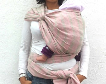 """197 """" Mexican woven baby wrap carrier long  Rebozo sling"""