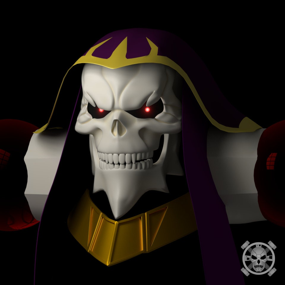 Ainz Ooal Gown head for 3D-printing from Necrosster on ...