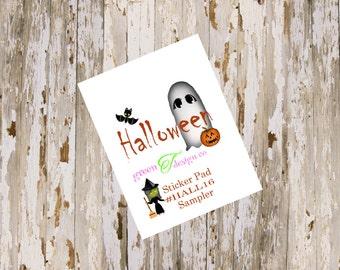 Halloween Sampler Sticker Pad