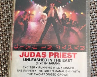 Judas Priest Unleashed In The East Live In Japan Cassette Tape 1979