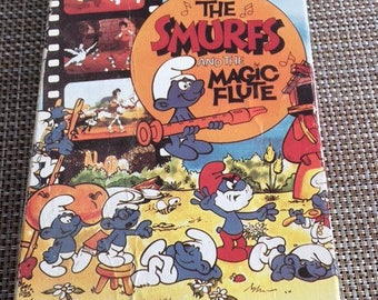 The Smurfs And The Magic Flute VHS
