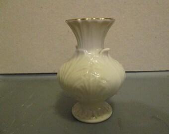 Cute Lenox Bud Vase; Porcelain Lenox Vase
