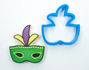 Mardi Gras Mask Cookie Cutters | Fleur de Lis Cookie Cutter | Mardi Gras Cookie Cutter | New Orleans Cookie Cutter | 3D Cookie Cutters