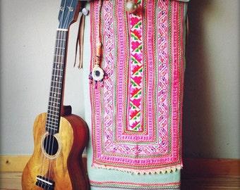 Unique Boho Ukulele bag - For all you modern hippies