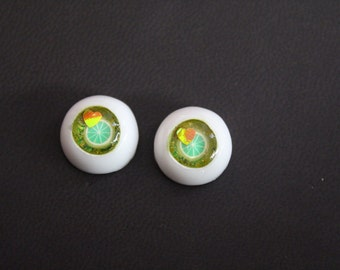 Bjd Ball Joint Doll Resin Eyes 14mm FruitLoops