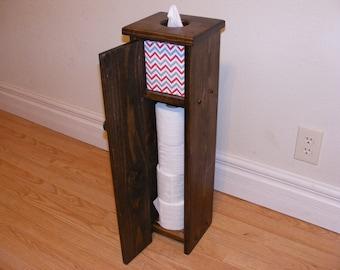 Rustic Toilet Paper Kleenex Holder