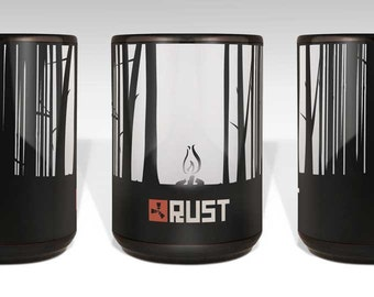 Survival Game - Rust Logo 15oz Mug