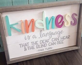 Treeline Designs Kindness