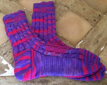 Ladies Hand Knitted Socks