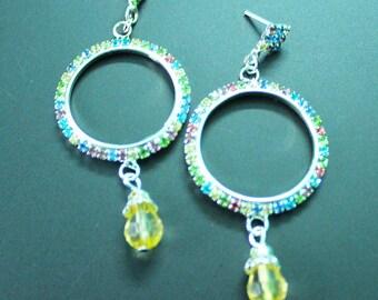 Wedding Jewelry Indian Silvertone Drop Dangle Women Party Wear Dress Earrings Antique Jewelry Traditional Fashion Collection Jewellery