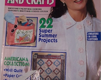 McCall's Needlework And Crafts  June 1992