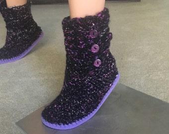 Flip Flop Sweater Boots