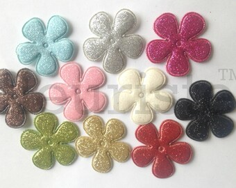 """Small 1.5"""" Flower, Satin flower, Fabric rose, Rolled Rosette, Wholesale Flower, Fabric Flower, Satin Flower, Satin Flowers, 3pc"""