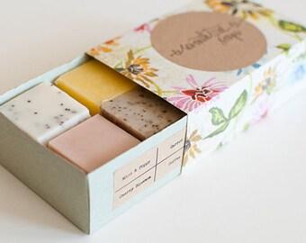 1 Box Handmade Soap Sampler or Bath Fizzies