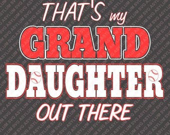 That's my Grand Daughter out there SVG