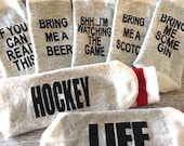 Bring me Beer whiskey Scotch Vodka Hockey Life Watching the Game Socks If you can read this gifts for him Birthday gift Father's Day