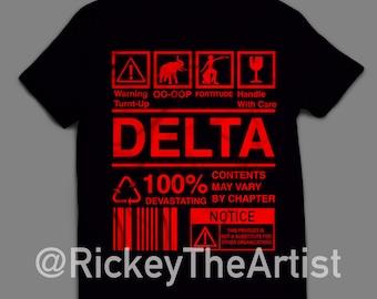 "DELTA SIGMA THETA ""Ingredients"" T-shirt"