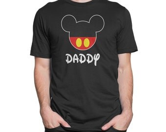 Men's Personalized Mickey Mouse T-Shirt