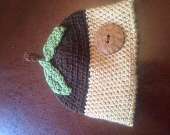Infant size acorn hat