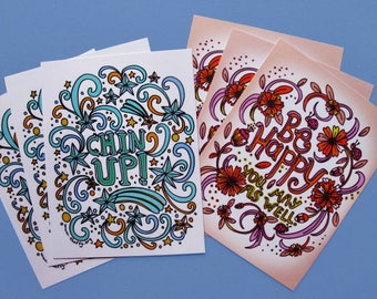 Good Vibes Postcard Set (6 Postcards)