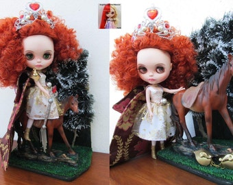 Custom Blythe Dolls For Sale by Custom doll Blythe, Queen Ariadna OOAK - for adoption