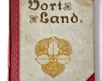 1911 VORT LAND (Our Country) Hardback Vintage Book Denmark