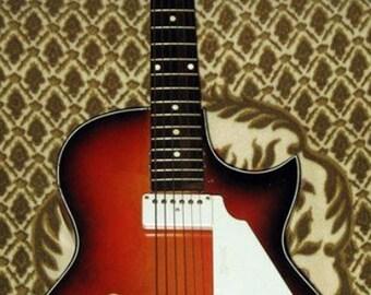 Egmond Lucky 7 1960 JAZZ Electric Guitar