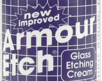 Armour Products Glass Etching Cream-10oz