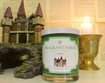 Camelot | Merlin Inspired | Scented Soy Wax Candle