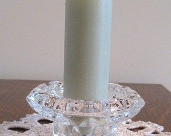 Candle Holder, Glass Candle Holder, Round Candle Holder