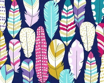 Michael Miller Fabric - Plucked - Midnite - MC6986 - Cotton fabric by the yard
