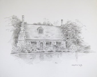 Pencil sketch from your photograph