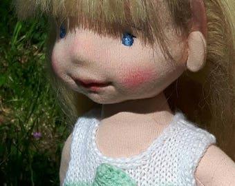Denise waldorf ispirato bambola