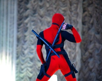 Deadpool Marvel comics & film cosplay costume