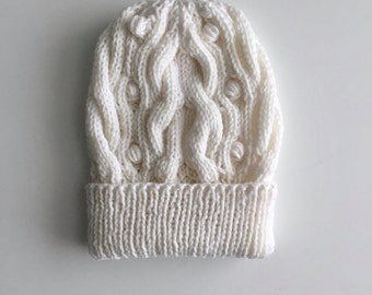Cables and Bobbles Hat