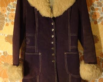 Vintage Brown Penny Lane jacket