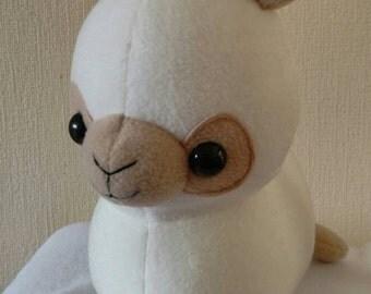"Alpaca plush, stuffed alpaca, 12"" - Ready To Ship"
