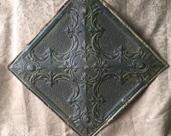 Maltise Cross Vintage Tin Ceiling Tile