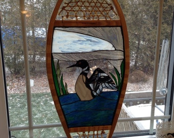 Dancing Loon Stain Glass
