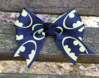 Batman Hair Bow (3 inch).
