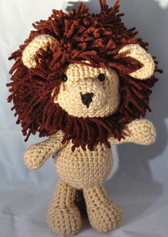 Lion stuffed animal farm animal amigurumi Plush toy baby