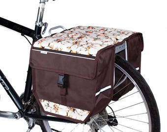 Double Pannier Bag Bicycle Cycle Bike