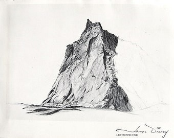James Disney - A Retrospective Exhibit Signed First Edition by Colorado Nature Artist