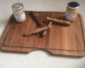 Hand Made Wooden Honey Dipper